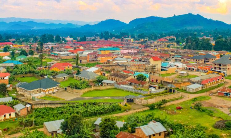 Kisoro border town